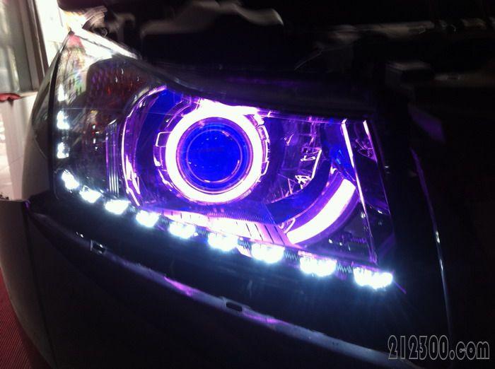 迪,本田crv,全面升级灯光系统 汽车改装维修保养 212300.com 高清图片