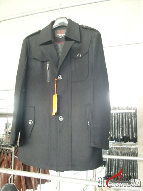 男士休闲风衣棉衣出售中 不夜城淘宝坊格子铺有现货