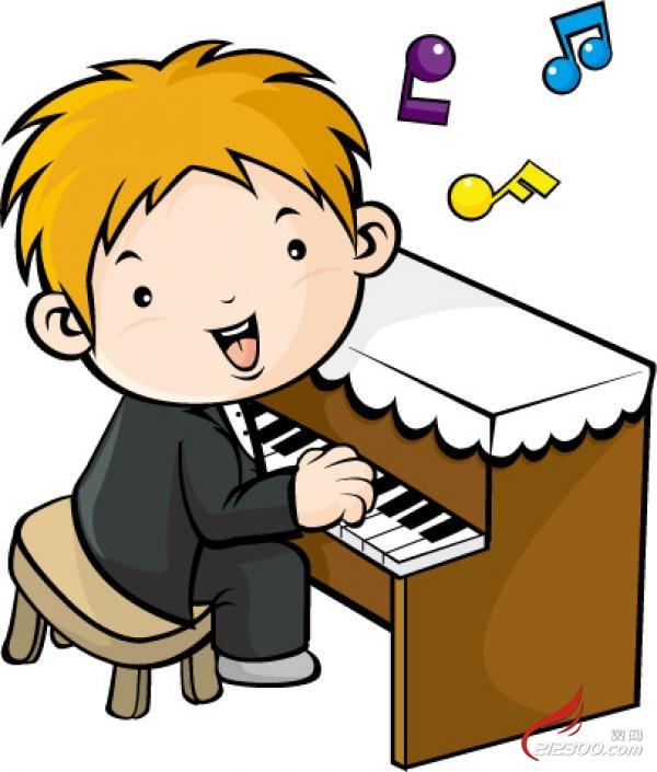 但如果认为钢琴和小提琴课会把孩子变成出色的音乐家,持有这种态度和图片