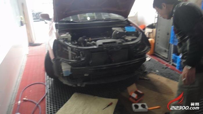 灯光升级 新悦动灯光系统升级 汽车改装维修保养 212300.高清图片