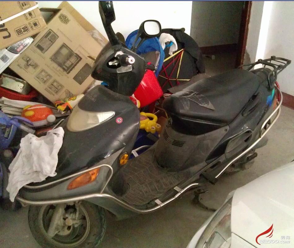 豪爵踏板摩托车转让!