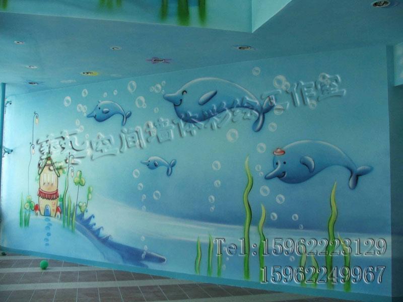 8150手绘 喷绘 墙体彩绘 喷画幼儿园喷绘喷图.jpg