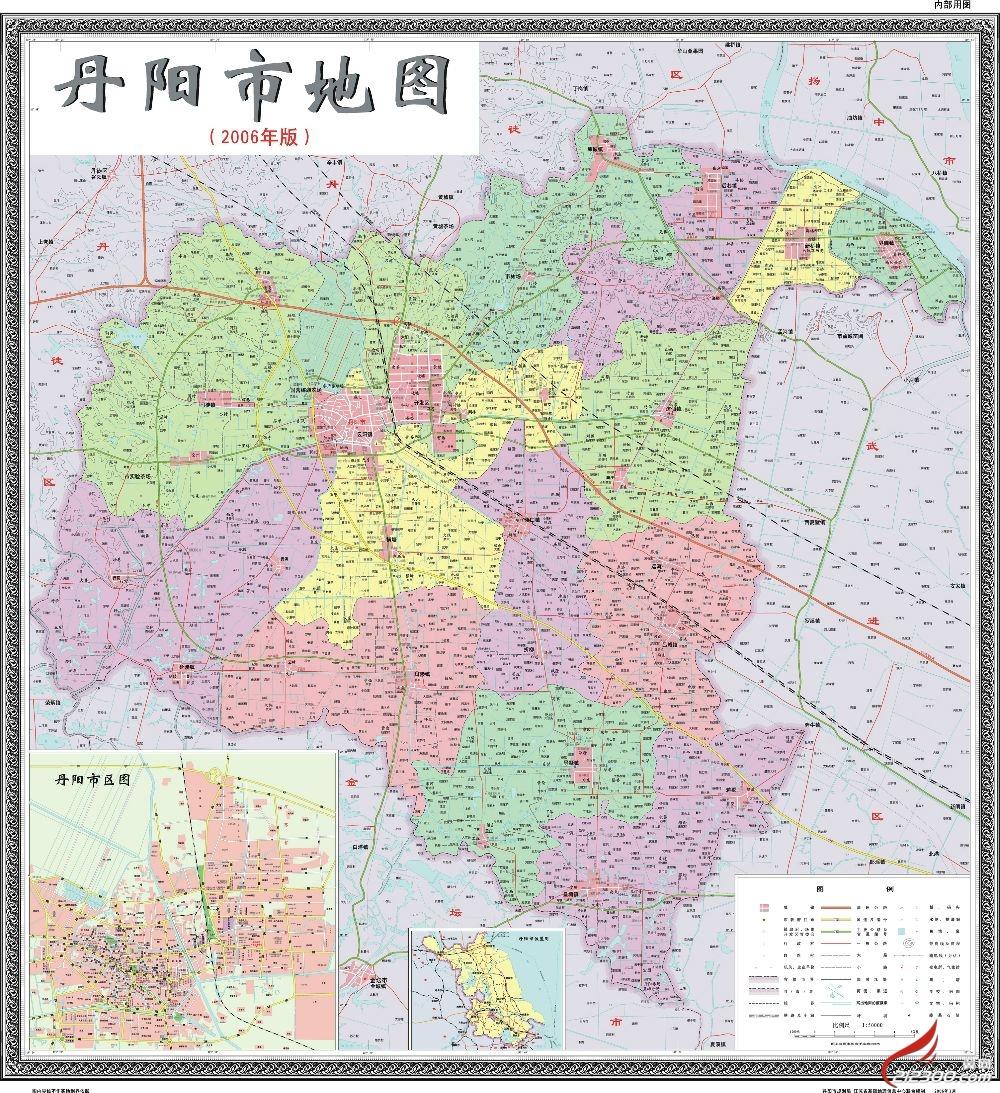 丹阳经济技术开发区地图