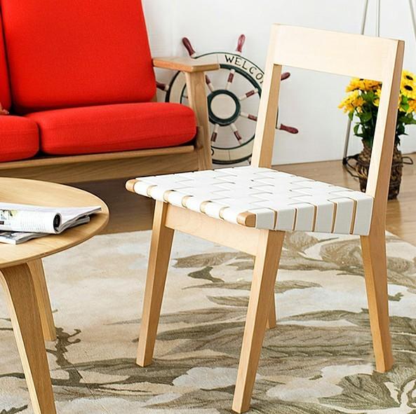 蝴蝶型艺术实木换鞋凳