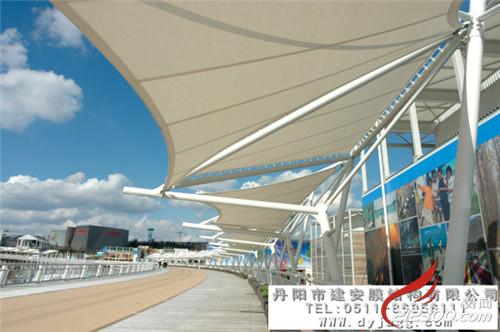 交通设施膜结构:机场