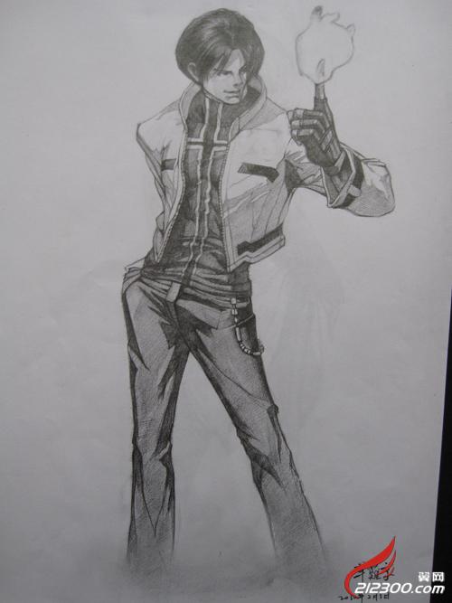 手绘漫画作品---《拳皇篇》