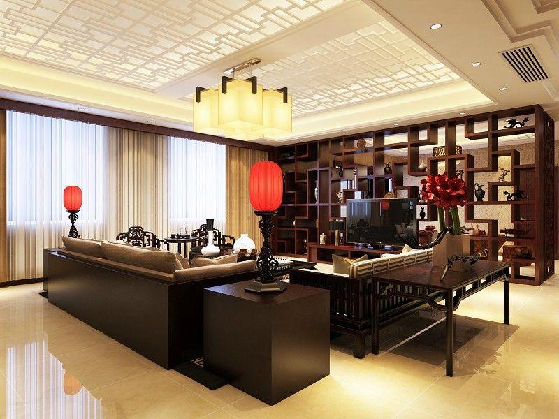0米)   设计风格:中式   设计公司:九彩室内设计装修工作室