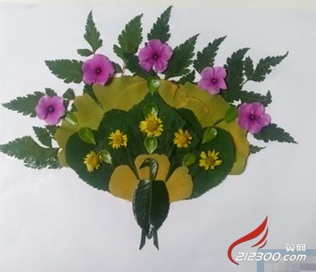 幼儿园手工制作花朵秋天