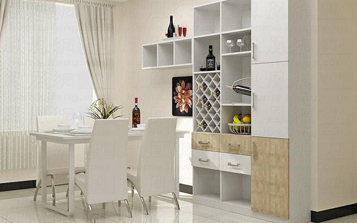 家庭装修 69 如何巧妙隔断客厅与餐厅?